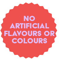 No artificial flavours or colours