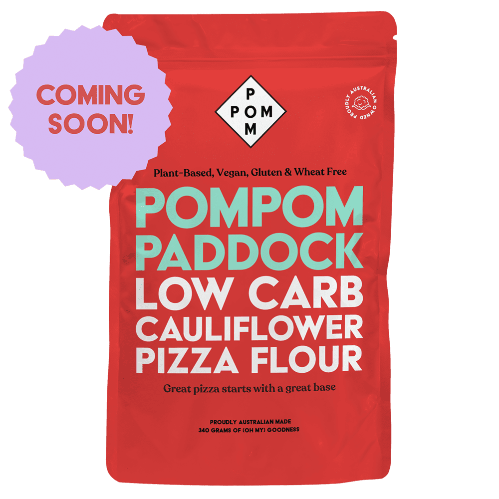 PomPom Paddock Low Carb Cauliflower Pizza Flour