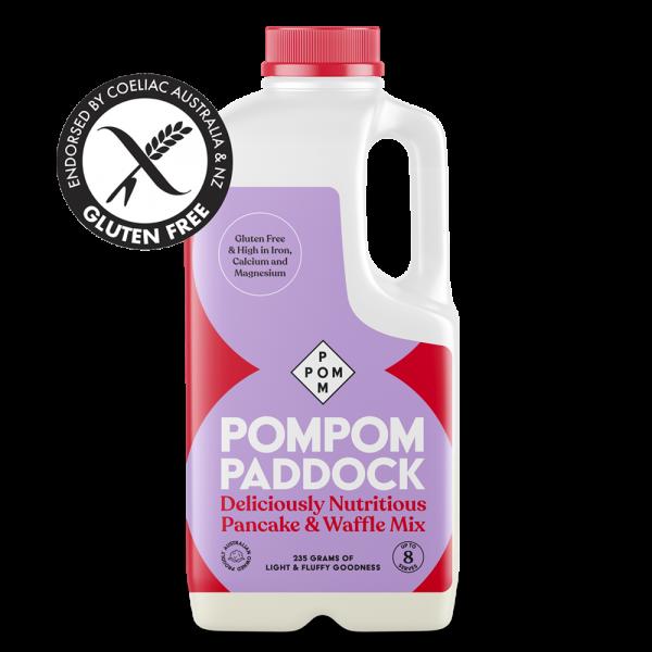 PomPom Paddock Pancake and Waffle Mix